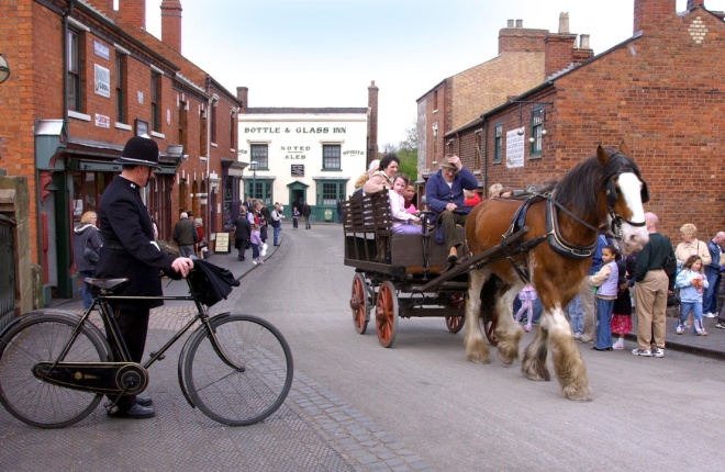 Experience the Midlands mid Industrial Revolution at the Living Museum in the Black Country