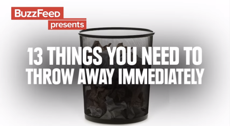 Buzzfeed-Things you need to throw away