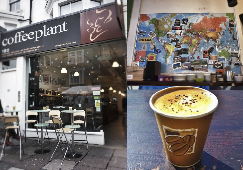 coffee; fair-trade; Coffee Plant cafe; Nottinghill