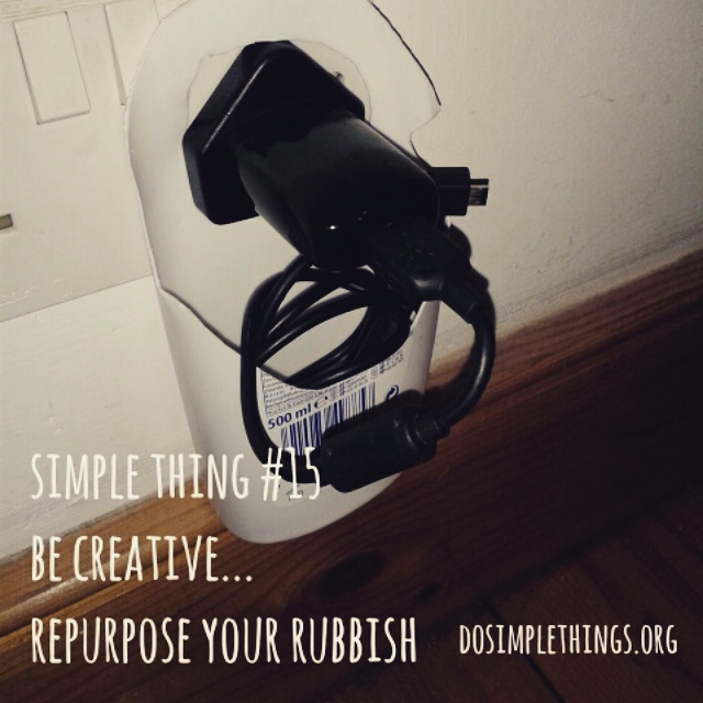 repurpose your rubbish