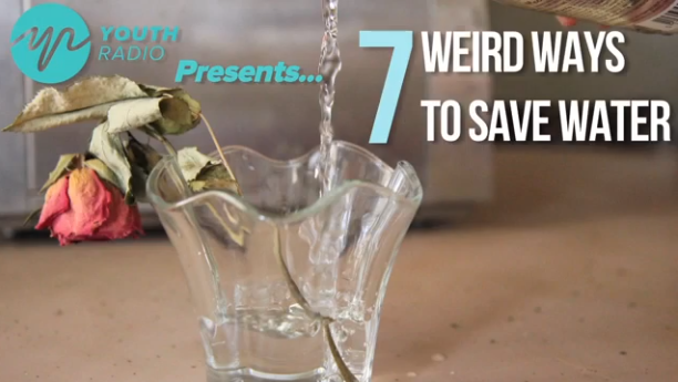 7 Weird Ways to Save Water.