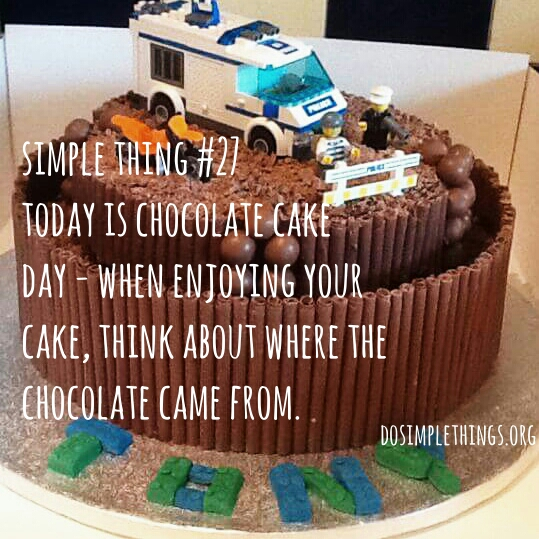 fair trade; chocolate; cocoa; chocolate cake; chocolate cake day